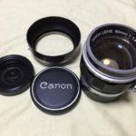 Canon 50mm F1.4 Lマウント